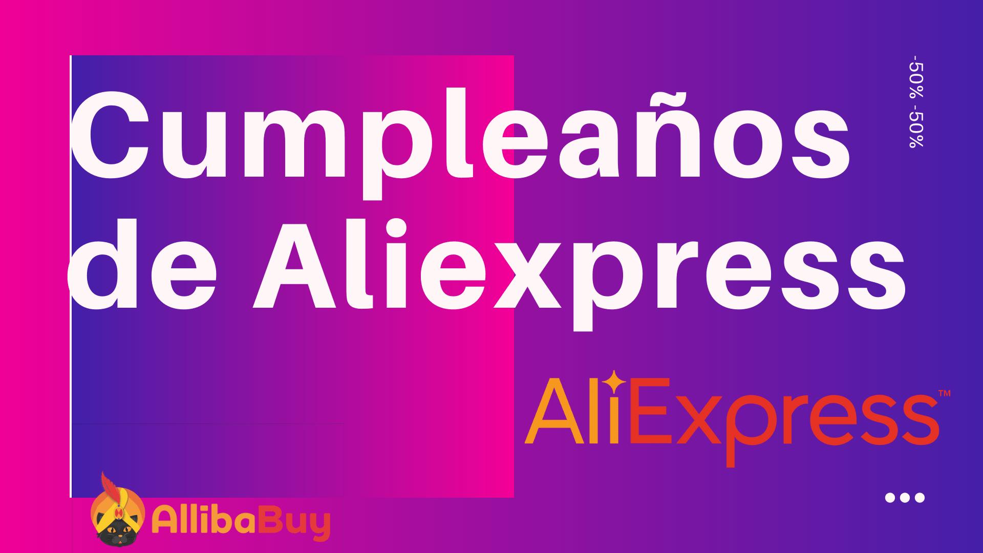 Cumpleaños de Aliexpress en 2020