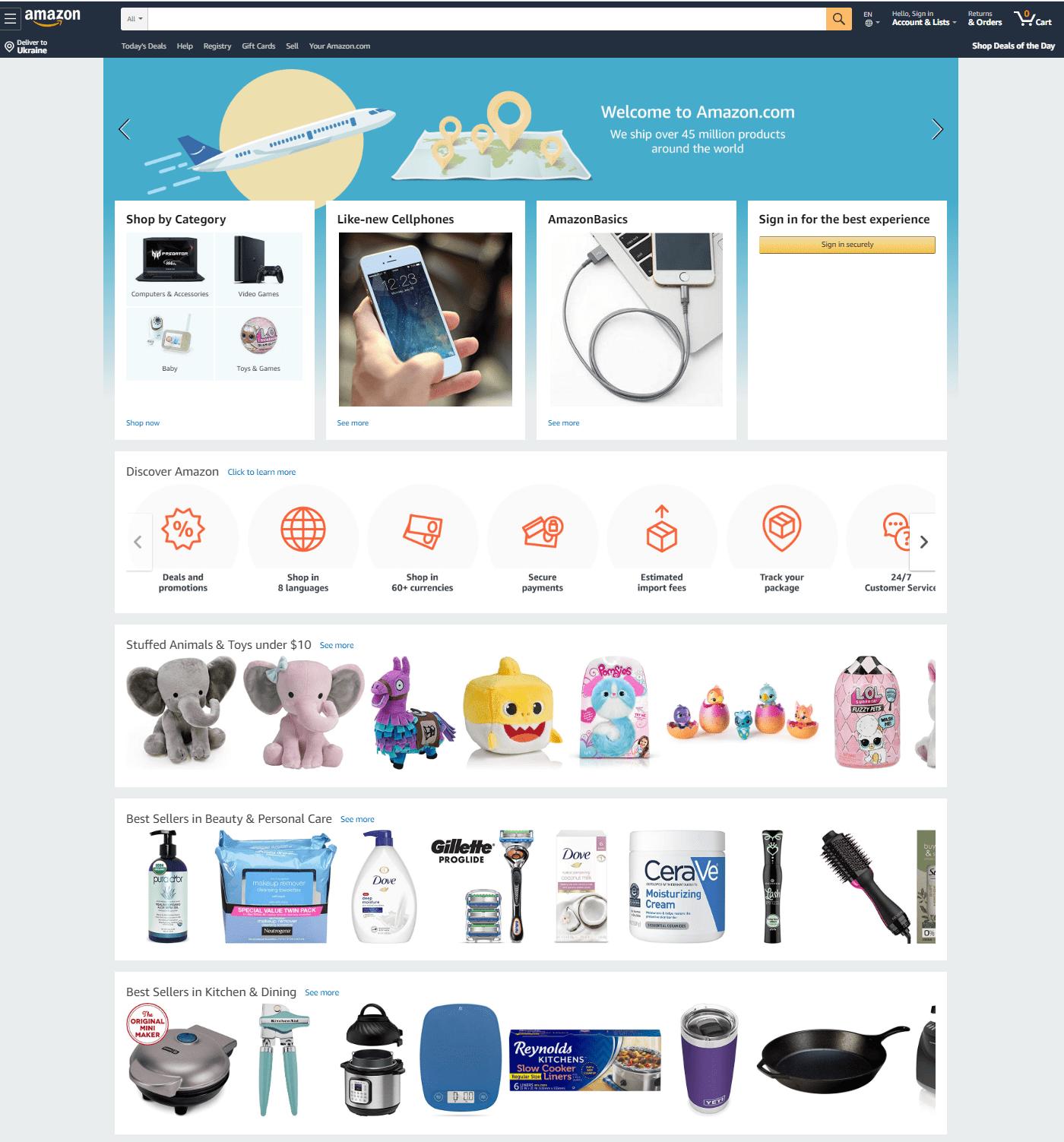 Амазон Интернет Магазин В Беларуси