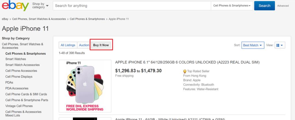 Ebay Shopping - Walkthroughs and Tips